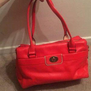 Kate Spade red satchel